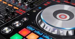 DJ Luke Pioneer DDJ-SZ Detailansicht