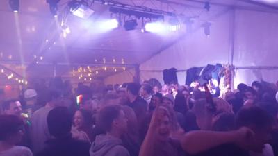 DJ Luke Beleuchtung